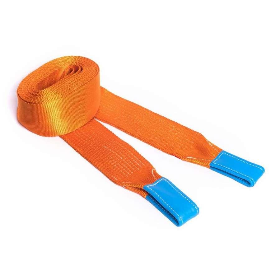 оранжевые грузоподъемные стропы